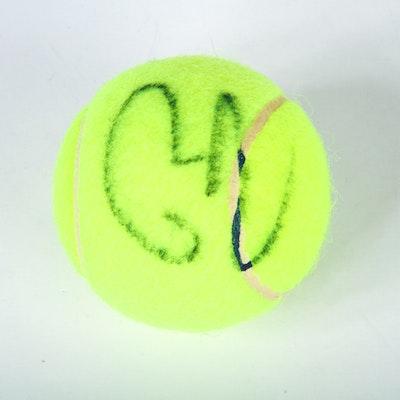 Autographed Rafael Nadal Tennis Ball
