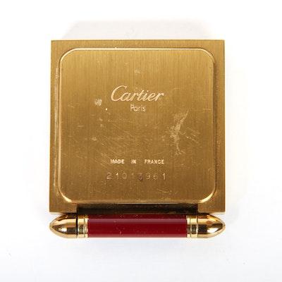 Brass Cartier Keepsake Picture Frame