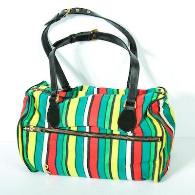 Vintage Roberta di Camerino Striped Handbag