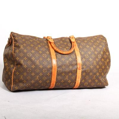 Vintage Iconic Louis Vuitton Duffle Bag