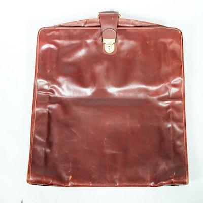 Bottega Veneta Leather Garment Bag