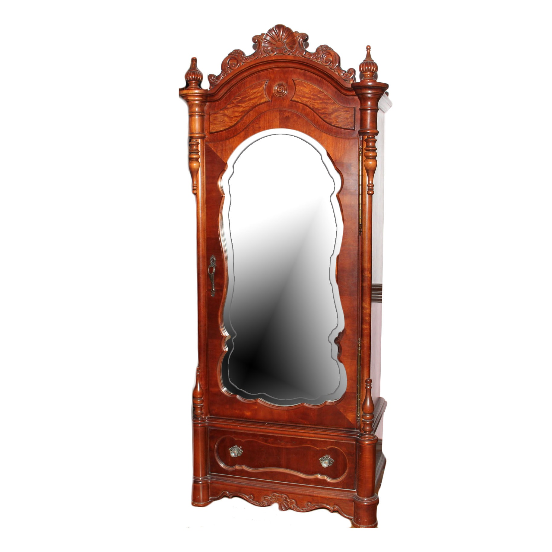 Mirrored Armoire Furniture 28 Images French Silver Leaf 2 Door Mirrored Armoire Hooker