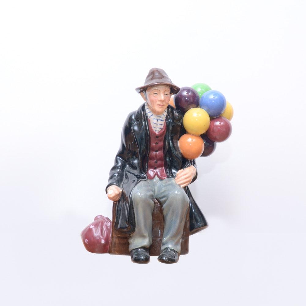 "Royal Doulton ""The Balloon Man"" 1954 Figure"