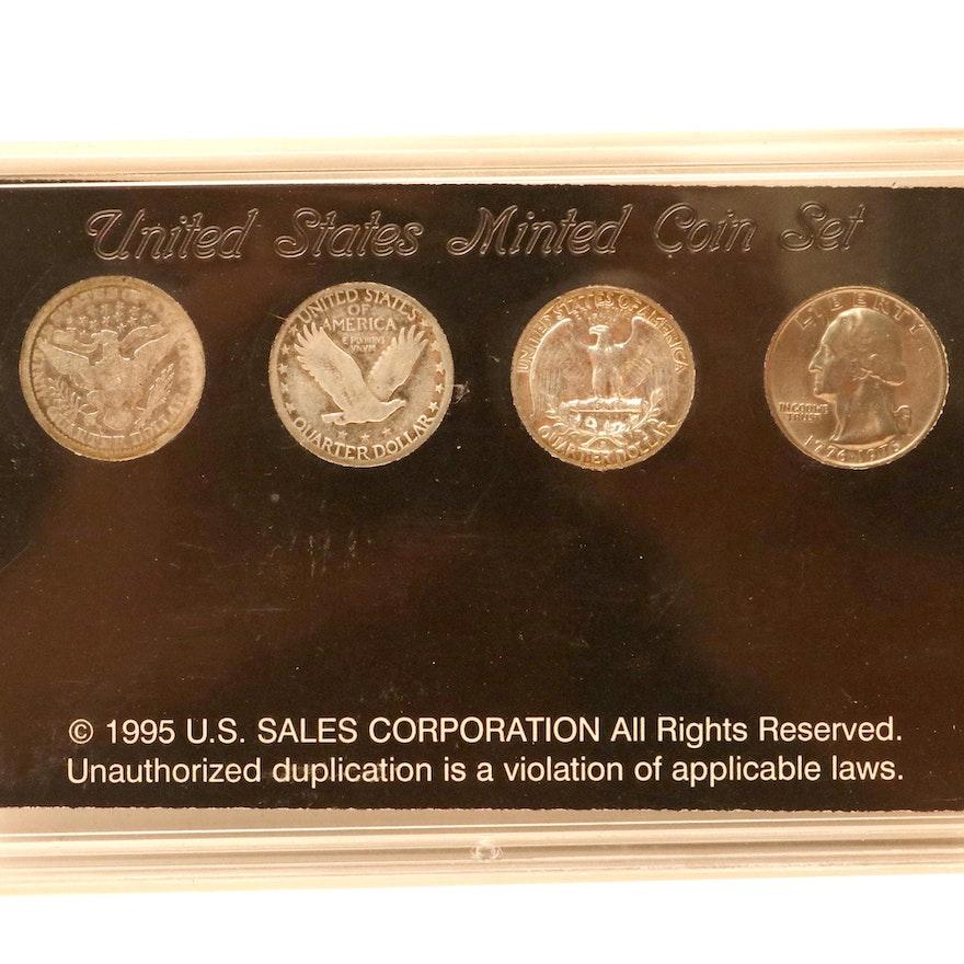 Encased Centennial Quarter Collection