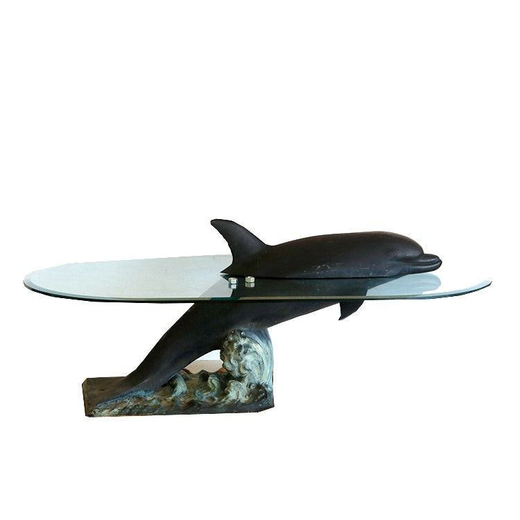 dolphin coffee table - best dolphin 2017
