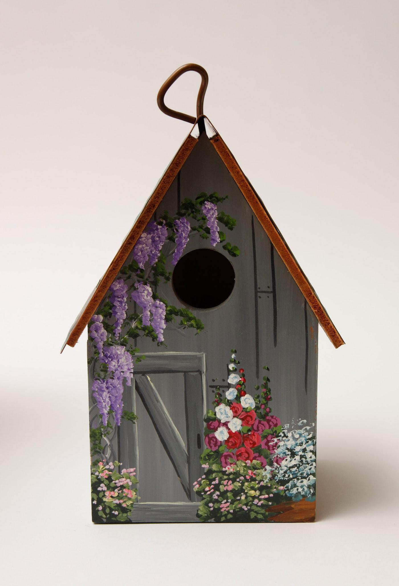 Assortment Of Decorative Bird Houses Ebth