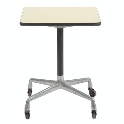 Eames Aluminum Group Typing Table by Herman Miller