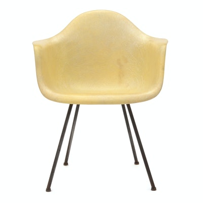 First Generation Eames Shell Arm Chair for Zenith Plastics