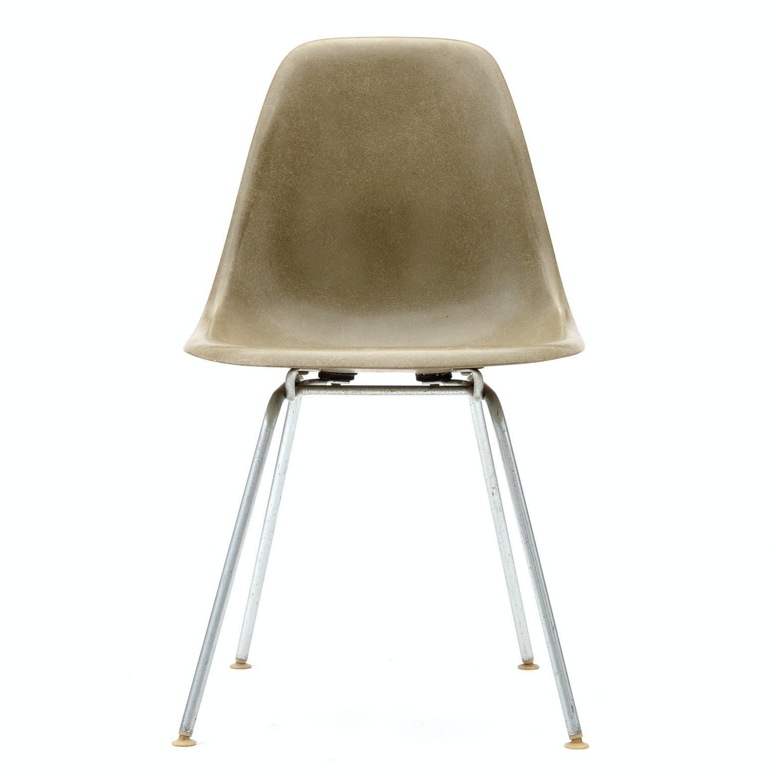 Gray Eames Shell Chair by Herman Miller
