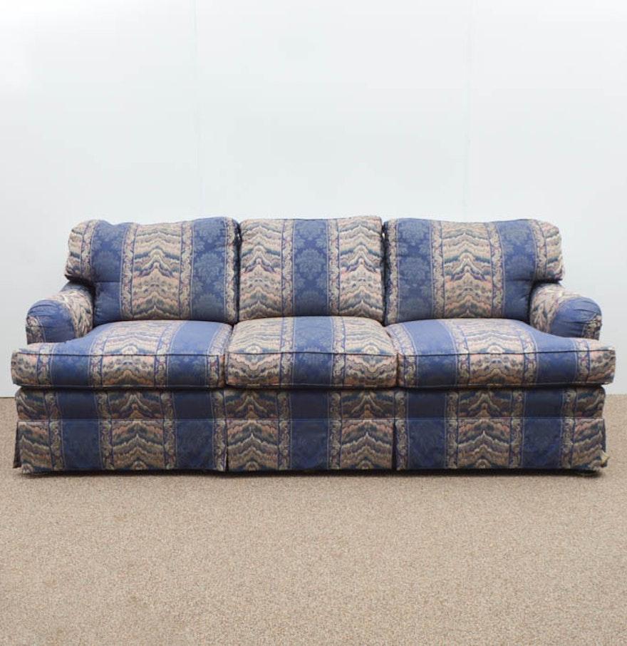 Massoud Upholstered Three Cushion Sofa Ebth
