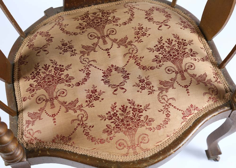 Vintage French Provincial Parlor Chair Ebth