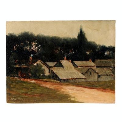 T. J. Willison Original Oil Landscape Painting