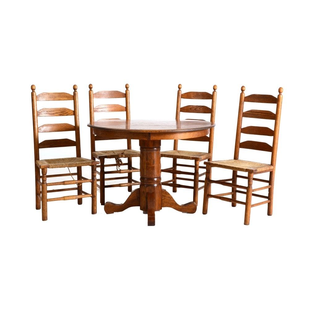 Oak Dining Set EBTH : DSC02992520copyjpgixlibrb 11 from www.ebth.com size 1000 x 1000 jpeg 104kB