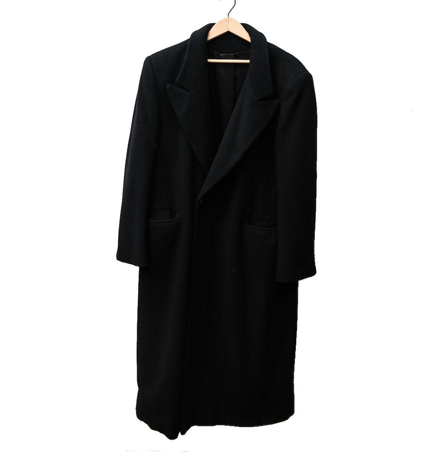 Women&39s Vintage Black Regency Cashmere Coat from I. Magnin : EBTH