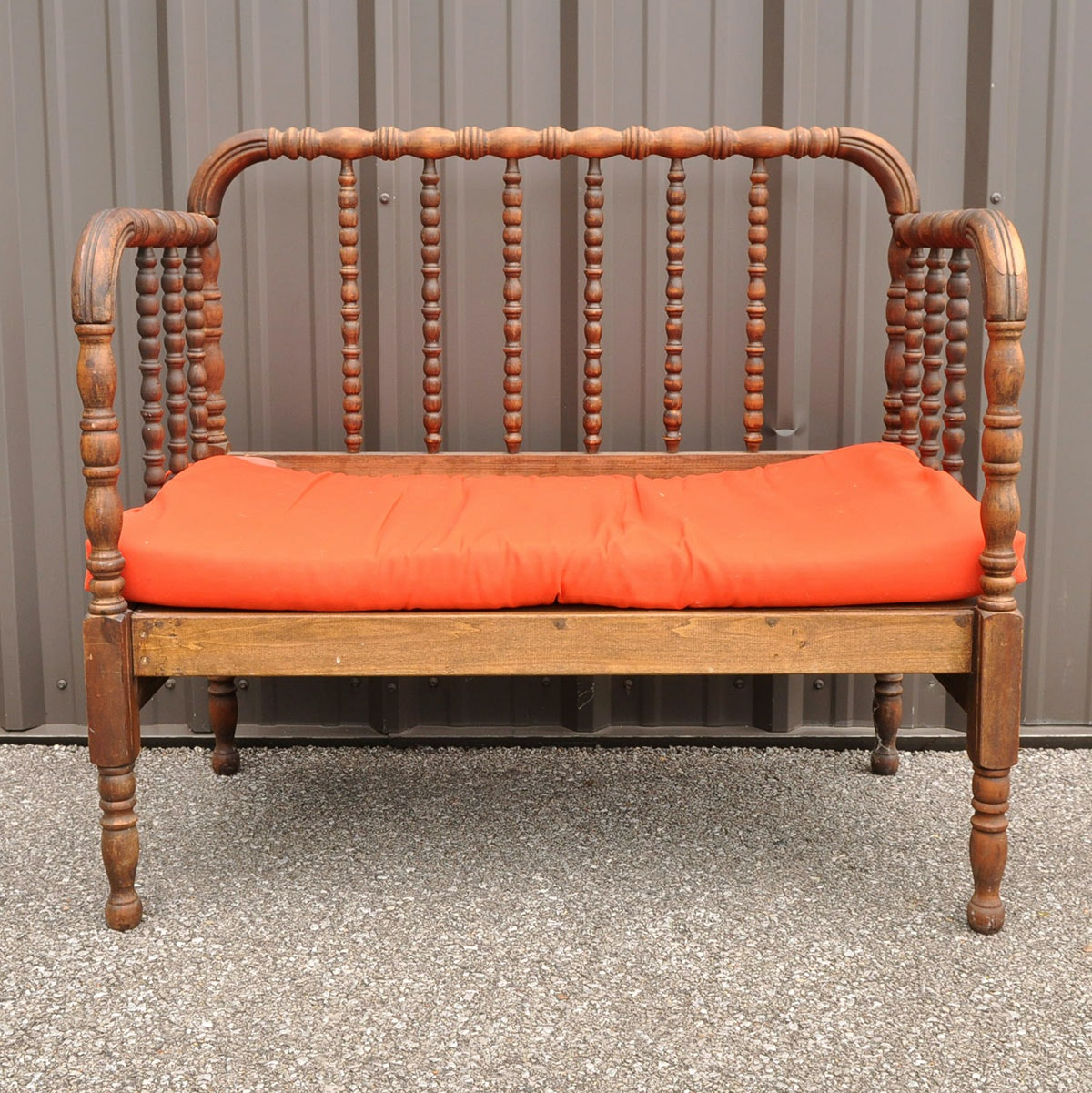 Wooden Bench With Cushion 28 Images Wood Slat Trapani