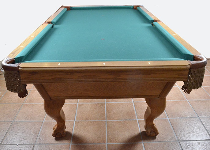 AMF PlayMaster Billiards Table and Accessories