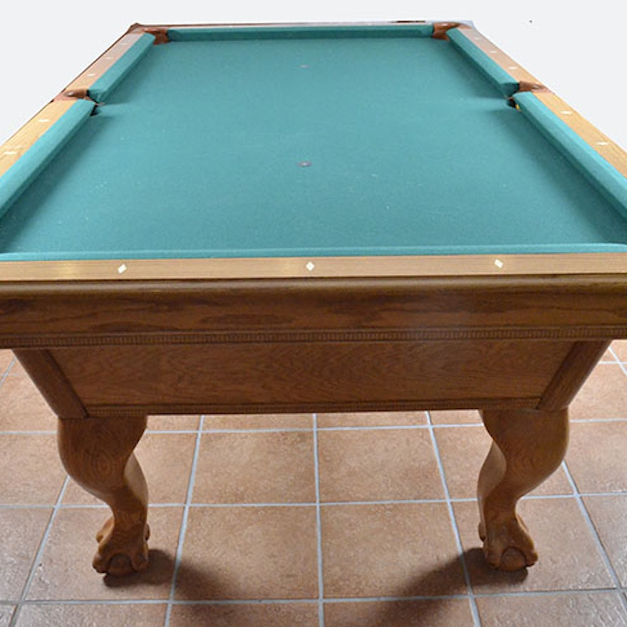 AMF PlayMaster Billiards Table And Accessories EBTH - Amf playmaster pool table