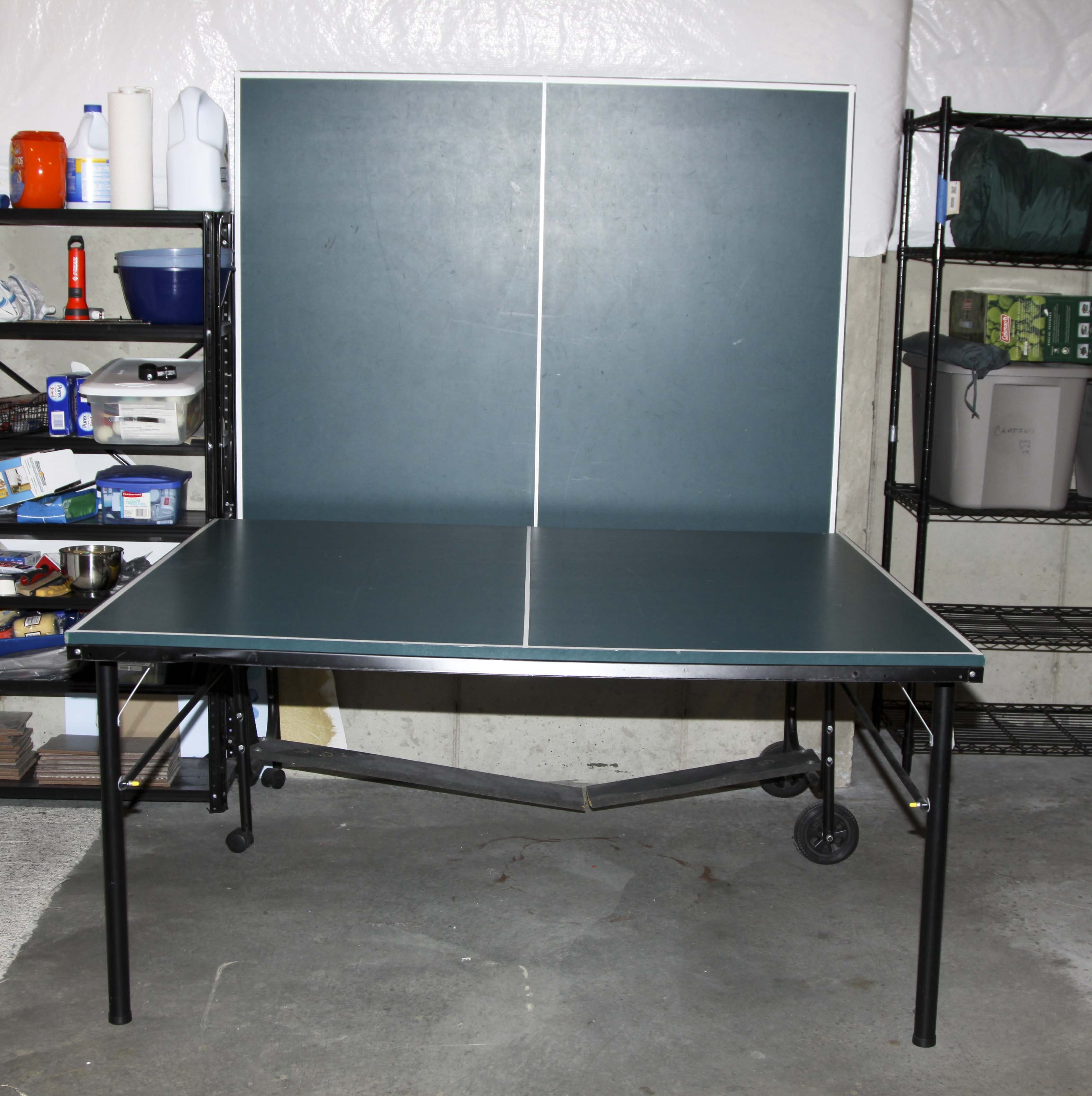 Spalding Folding Ping Pong Table ...