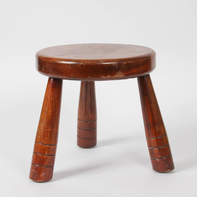 Wooden Milking Stool Ebth