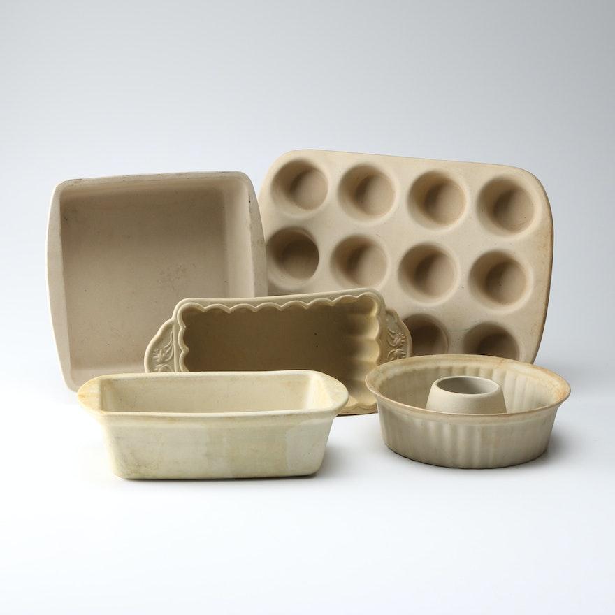 Stoneware Baking Pans Ebth