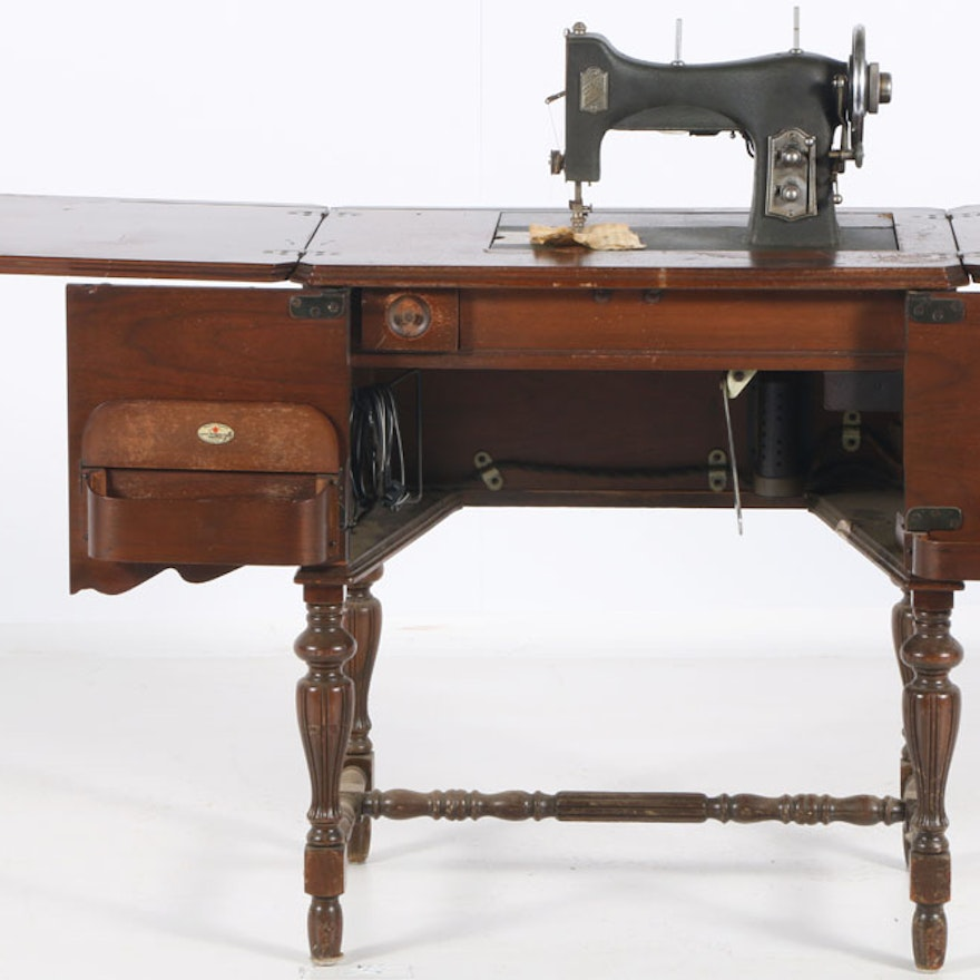White Sewing Machine Company Table