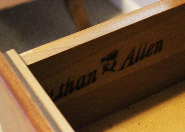 Ethan Allen Corner Cabinet: Six-Piece Ethan Allen Solid Maple Corner Cabinets : EBTH