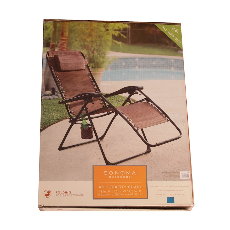Remarkable Sonoma Anti Gravity Folding Lounge Chair Gamerscity Chair Design For Home Gamerscityorg