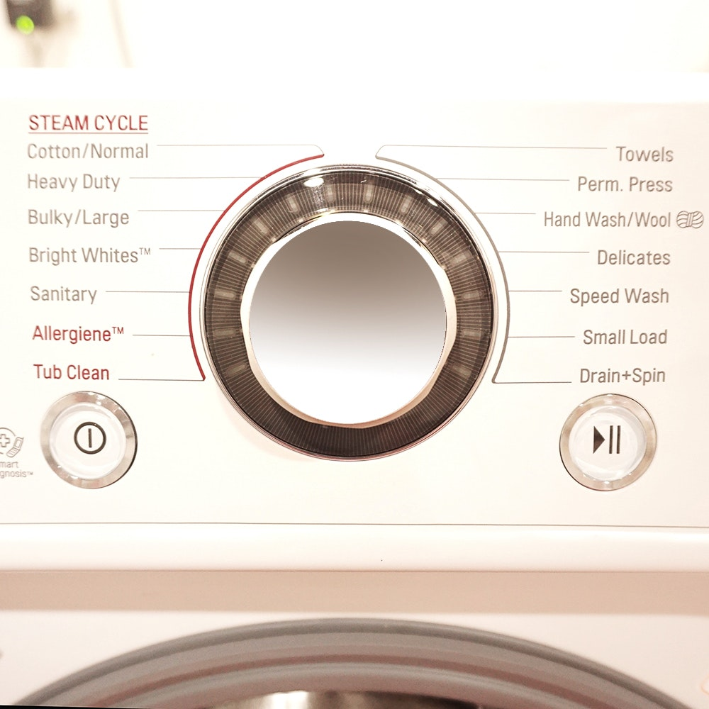 Lg Front Loading Electric Washer Dryer Combo Ebth