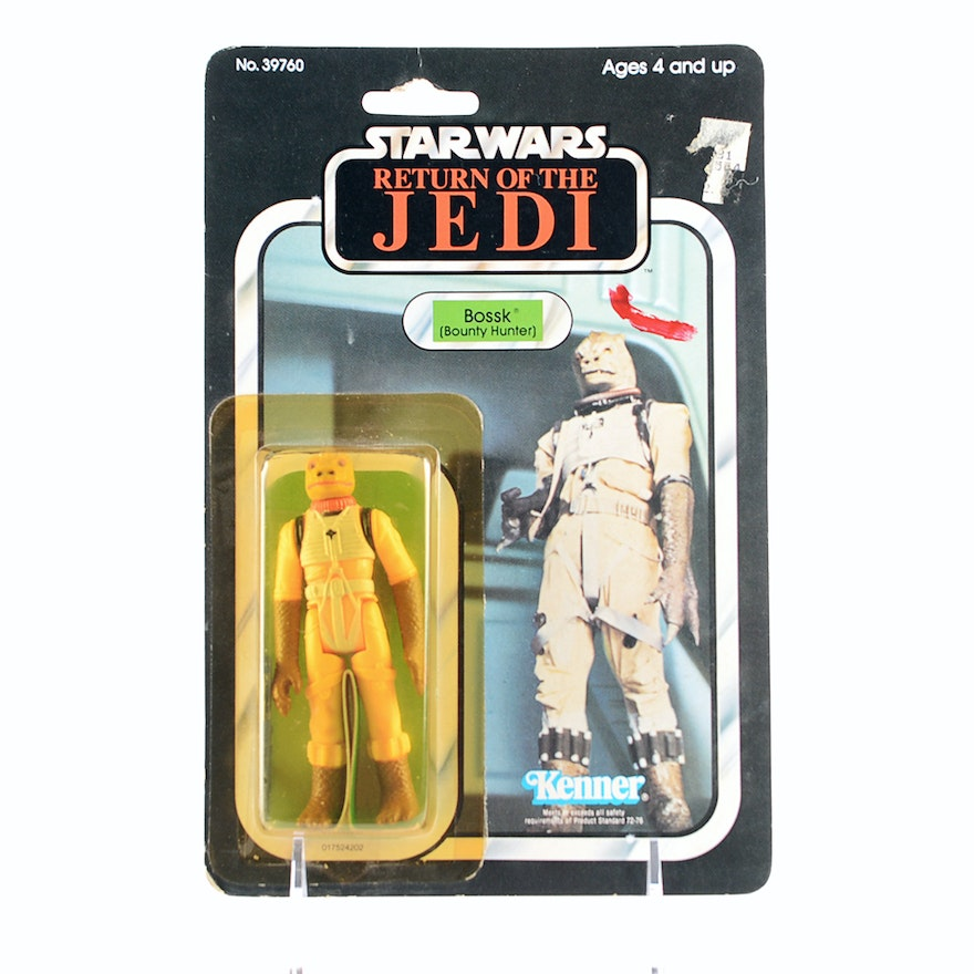 Bossk Star Wars Return Of The Jedi Kenner Action Figure
