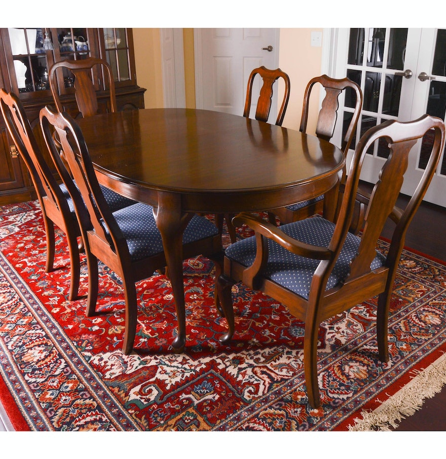 Pennsylvania House Dining Table And Chairs : EBTH