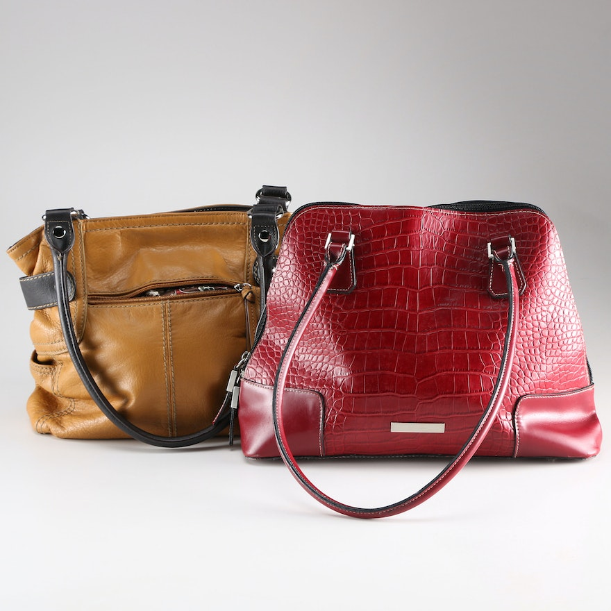 Tignanello And Gerry Weber Tote Bags