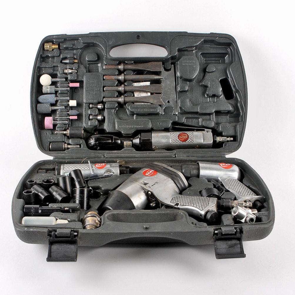 Devilbiss Air Power >> Pneumatic Tool Set By Devilbiss Air Power Company Ebth