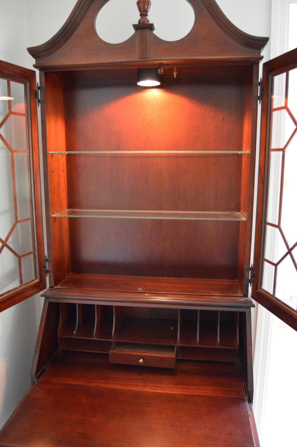 Jasper Cabinet Company Slant-Front Secretary Desk | EBTH