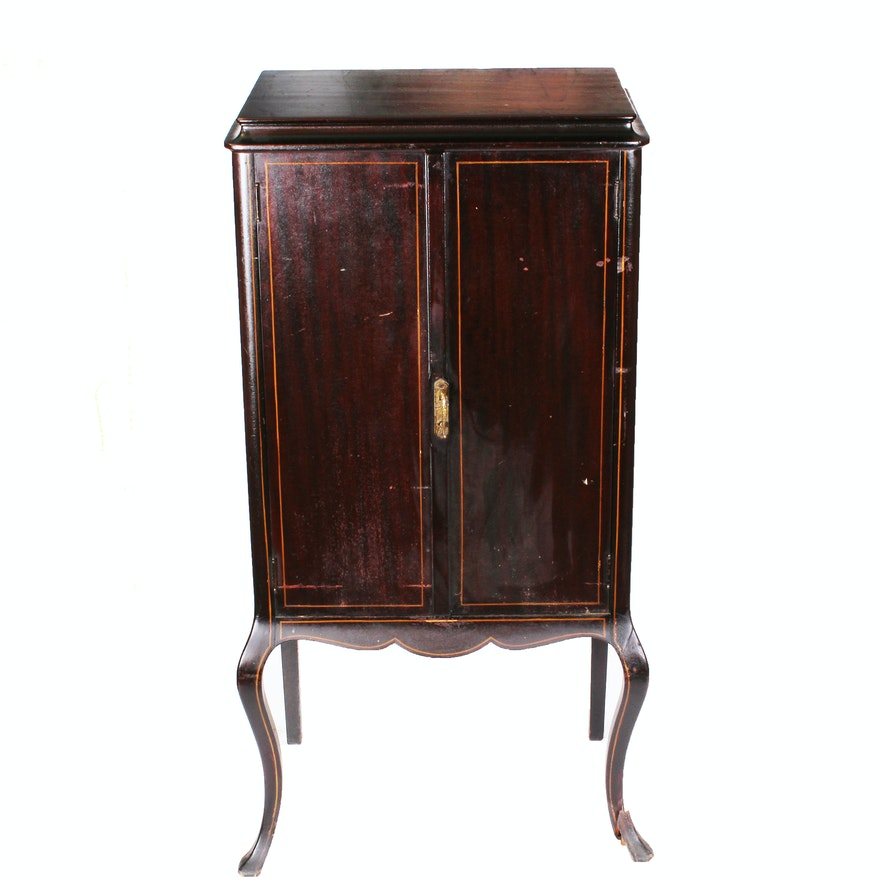 Antique Sheet Music Cabinet ... - Antique Sheet Music Cabinet : EBTH