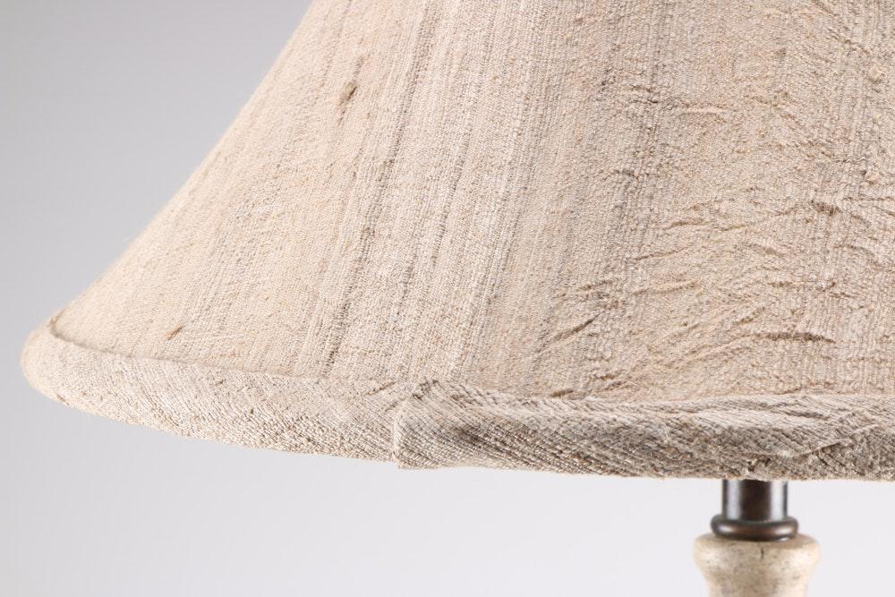 Maitland Smith Plaster Table Lamp Ebth
