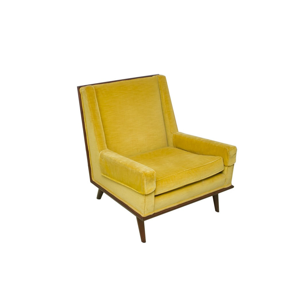 Mid Century Modern Upholstered Armchair
