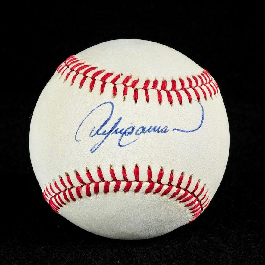 da4adc56805 Andrew Dawson Autographed Baseball (COA)   EBTH
