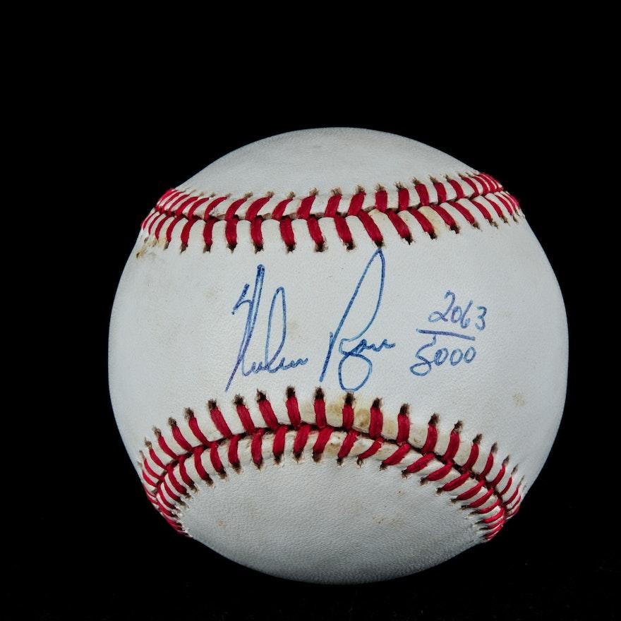 af6db442175 (HOF) Nolan Ryan Autographed Baseball (COA) : EBTH