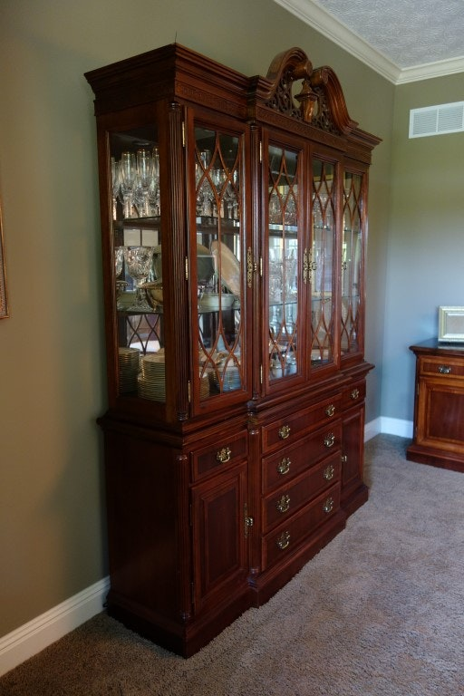 Chippendale Style Universal Furniture China Cabinet Ebth