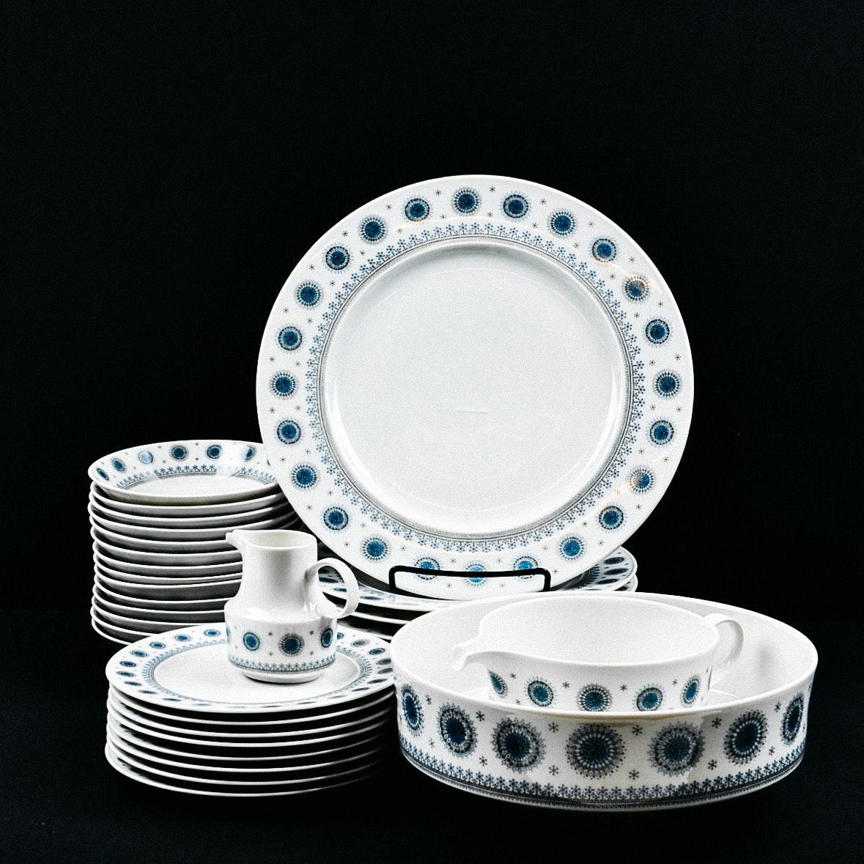Rosenthal Dinnerware in the \ Ice Blossom\  Pattern ... & Rosenthal Dinnerware in the \