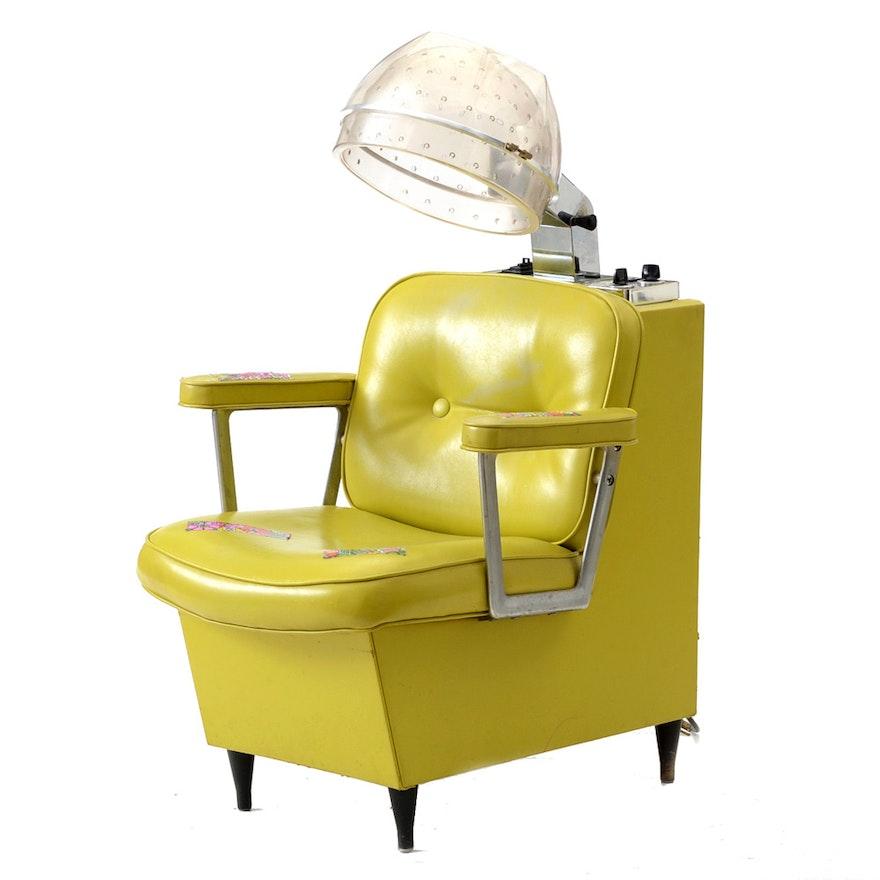 fabulous vintage lime green elegant first lady salon hair dryer