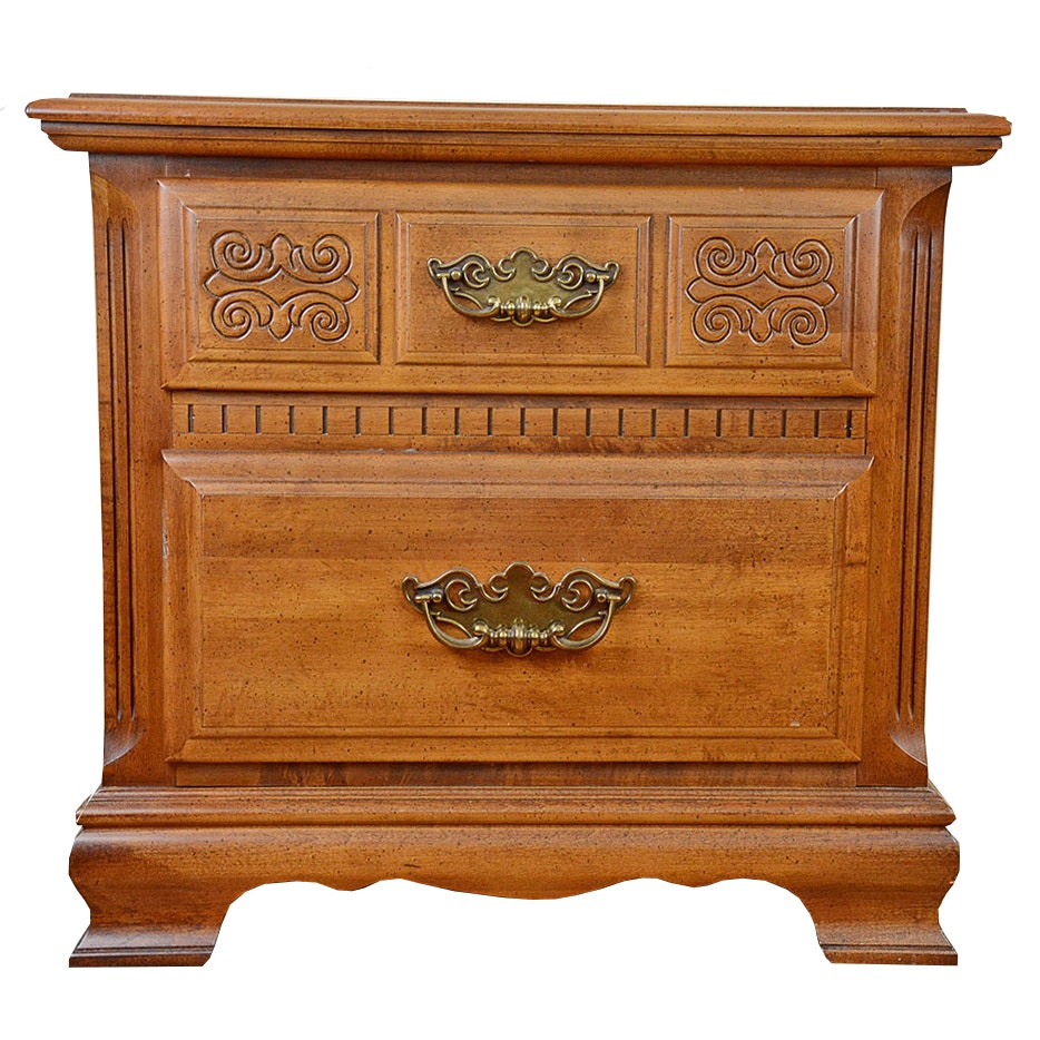 Two Drawer Nightstand by Sumter Cabinet Co.