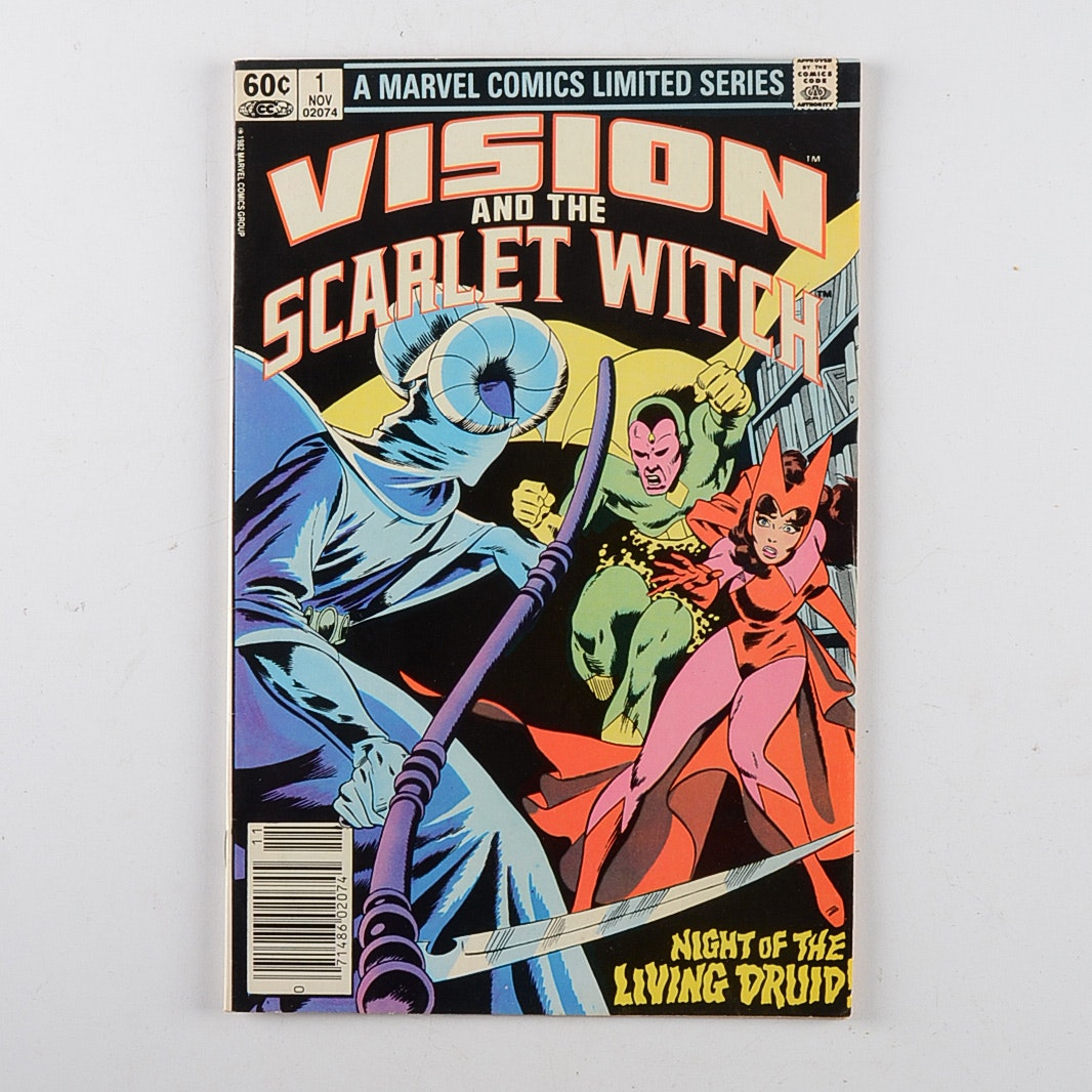 Marvel Comics Vision and the Scarlet Witch #1 issue