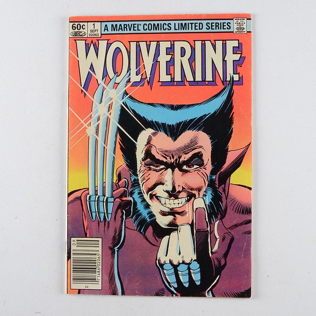 Marvel Wolverine Comic #1 September 1982