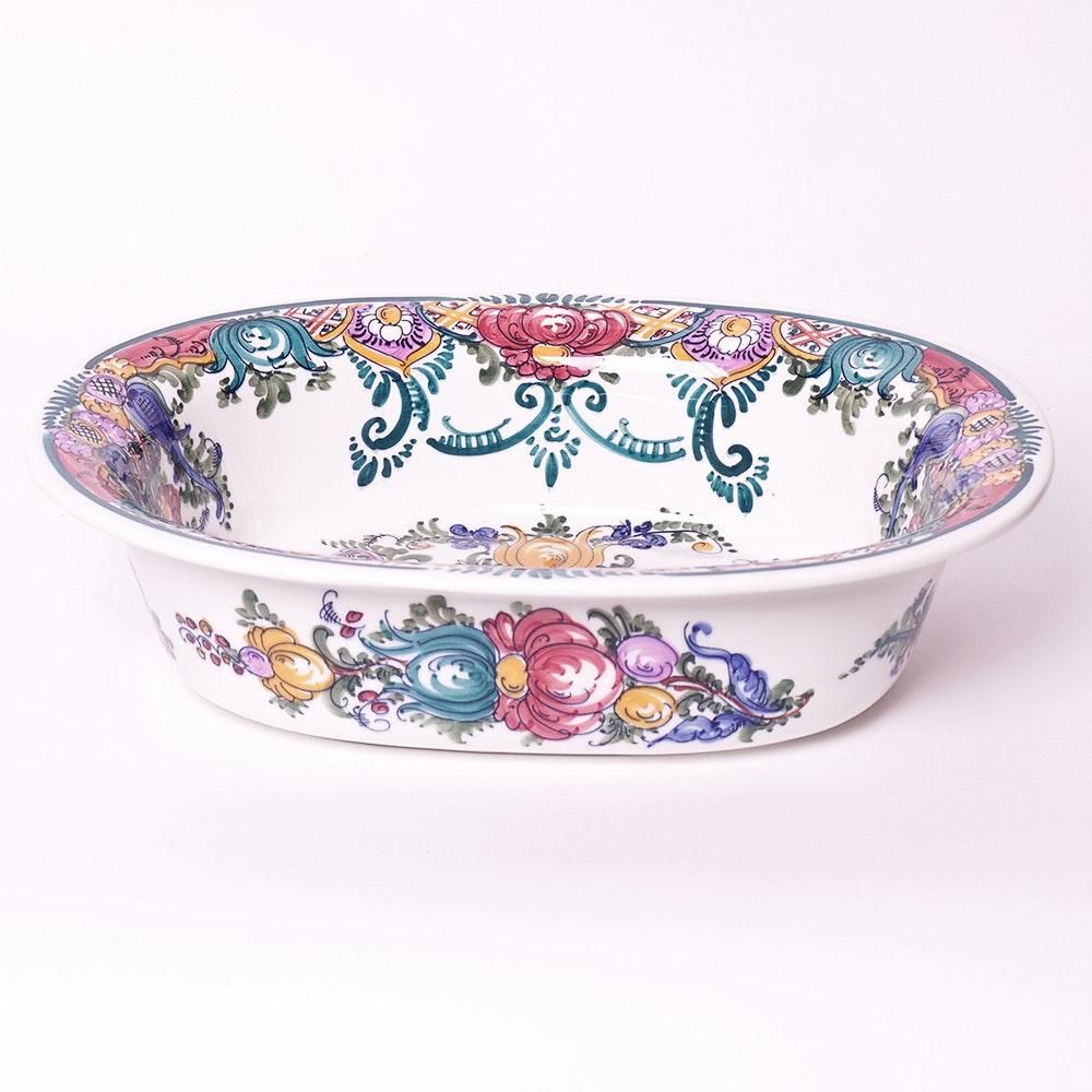 Hen Shaped Ceramic Serving Bowl Ebth