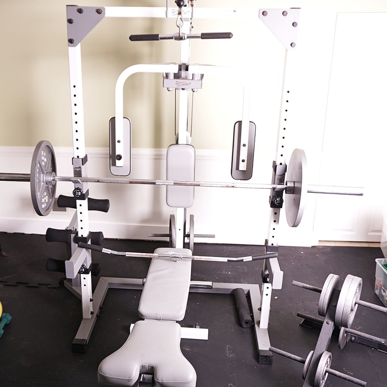 Tuff stuff axt home gym ebth