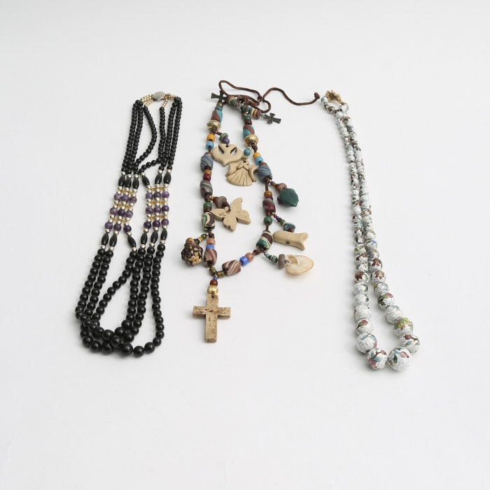 Assortment of Costume Necklaces