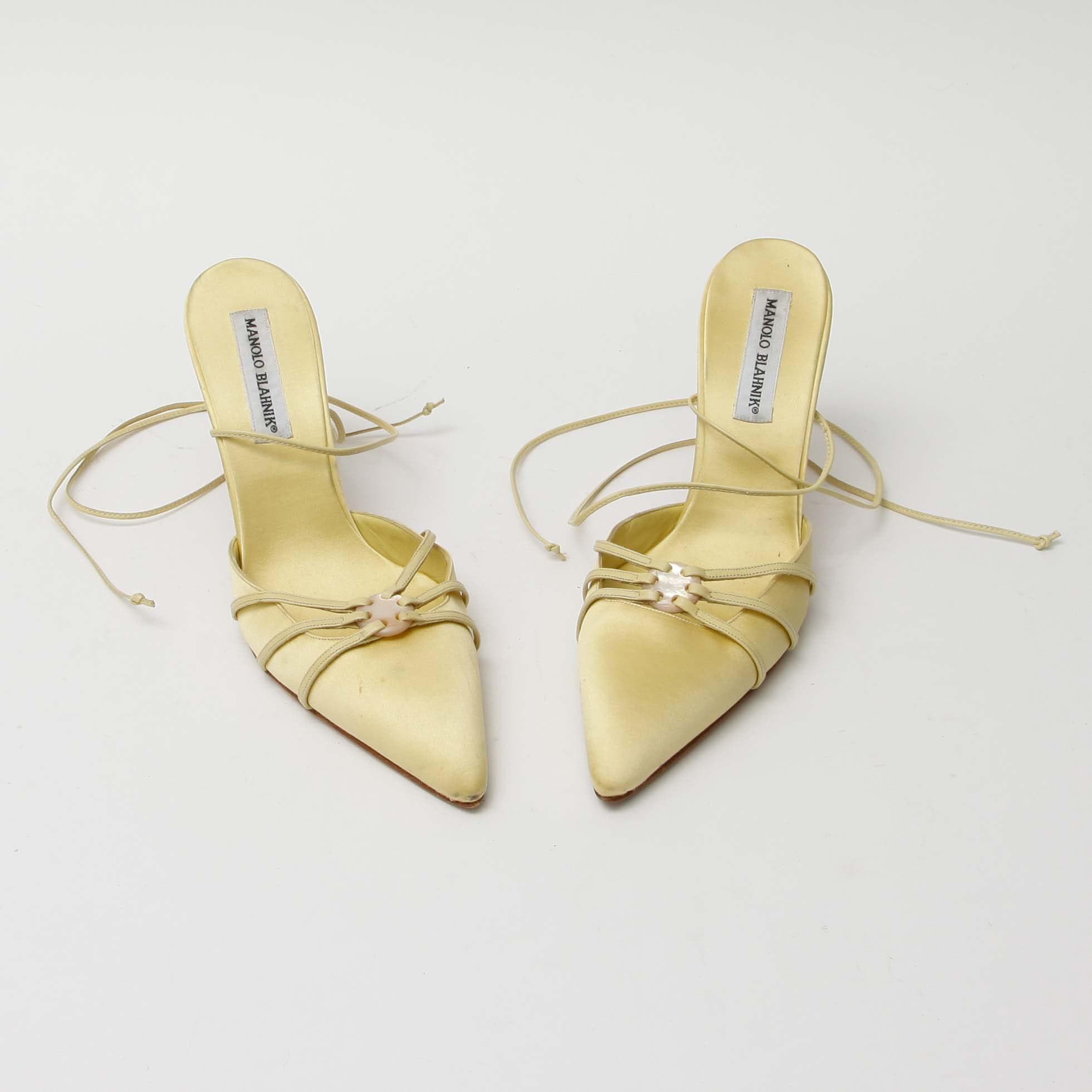 Manolo Blahnik High Heel Shoes