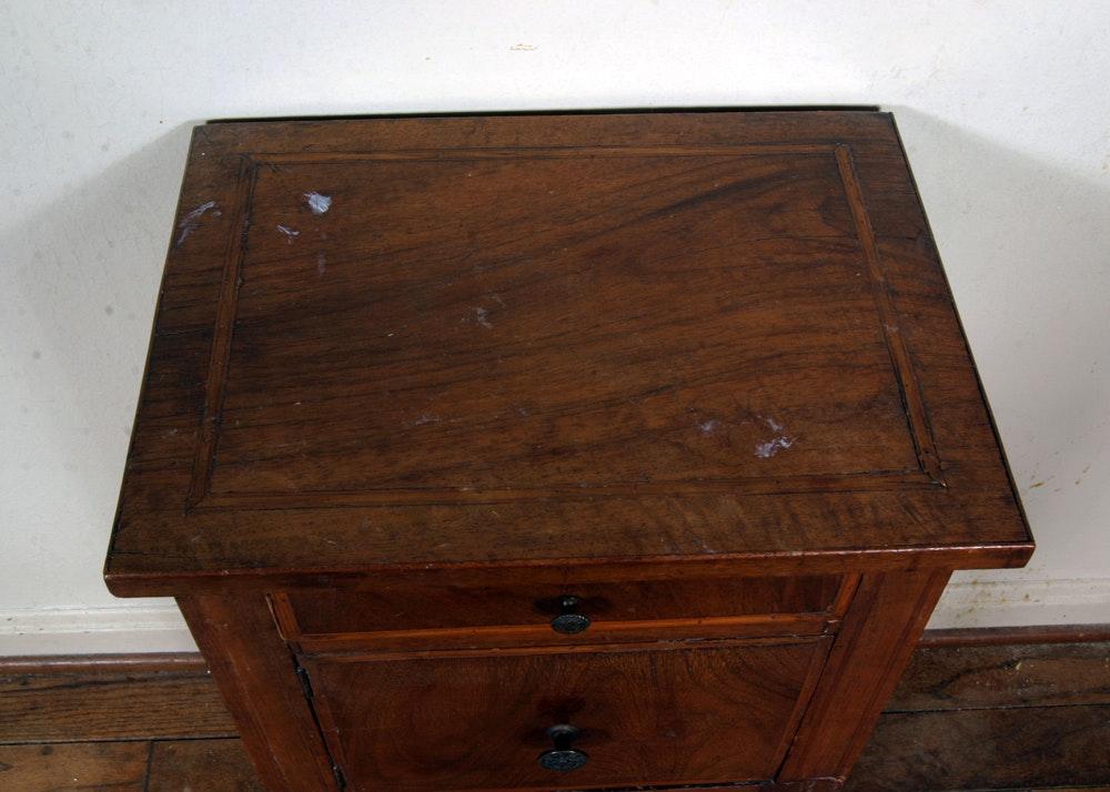 Vintage wooden telephone table ebth