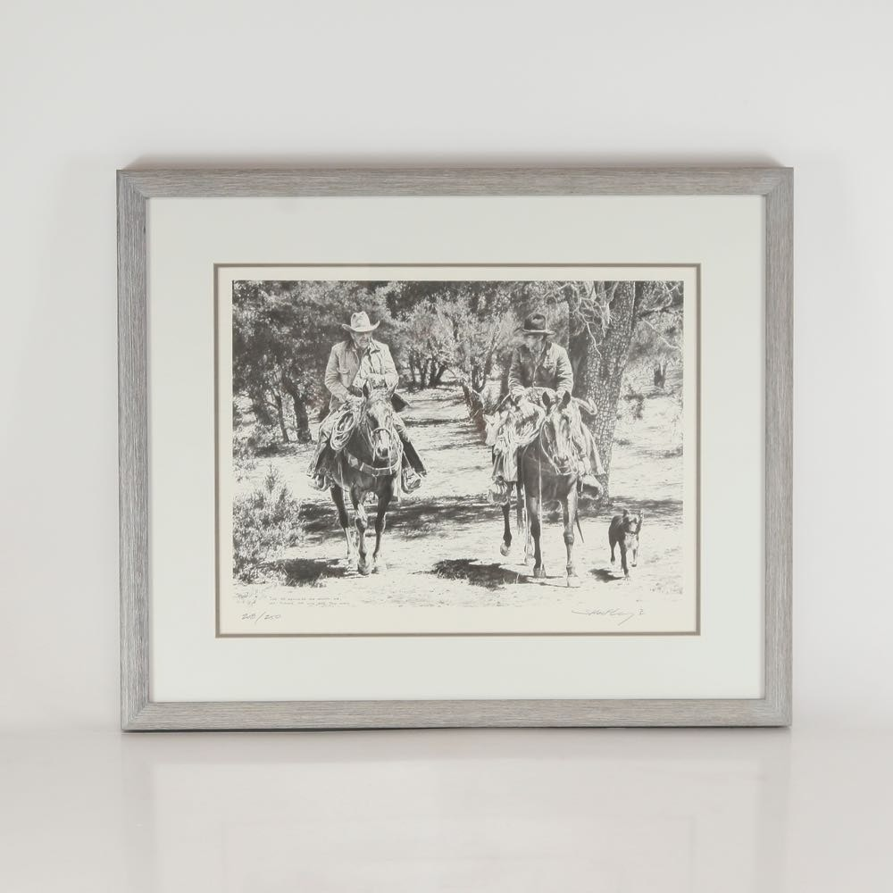 Robert Shoofly Shufelt Signed Limited Edition Offset Lithograph